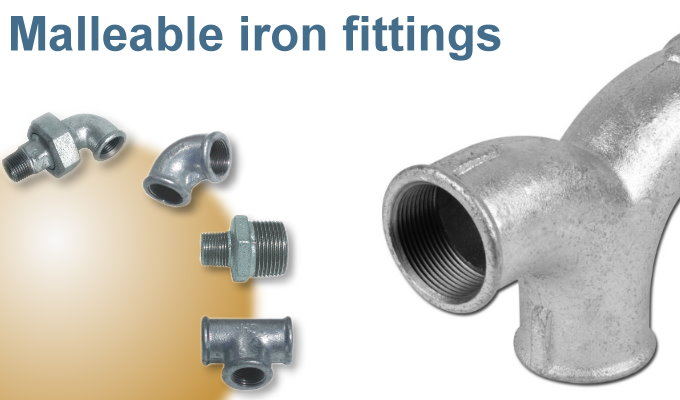 Assotherm malleable cast iron fittings