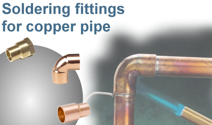 Assotherm soldering fittings for copper pipe